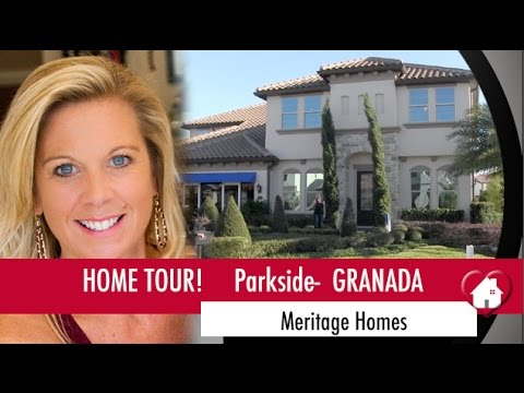 New Homes Dr. Phillips Granada Model by Meritage Homes at Parkside