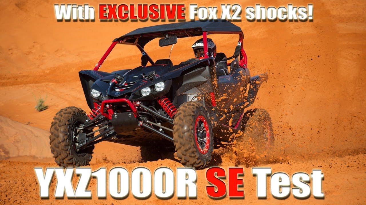 2017 Yamaha Yxz1000r Se Test Review Youtube