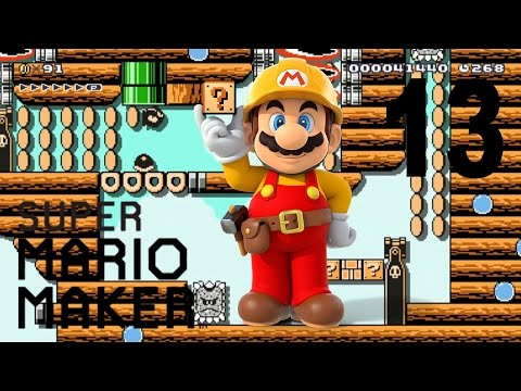 Super Mario Maker #13: Boom Airship 3! (by Linkos)