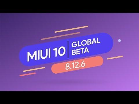 Обновление Redmi 6 до MIUI 10 и Android 9 Pie