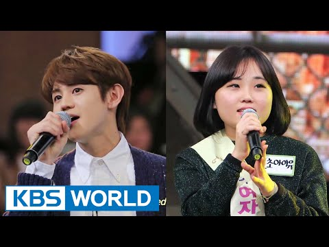 [Short Clip] YoSeob(BEAST) sings duet with tone-deaf girl on