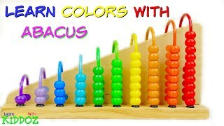 Learn Colors & Numbers With ABACUS & Candies