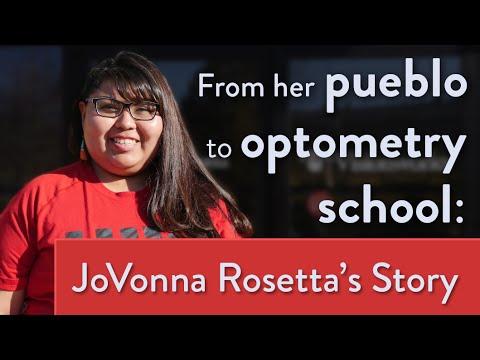From Her Pueblo to Optometry School: JoVonna Rosetta's Story