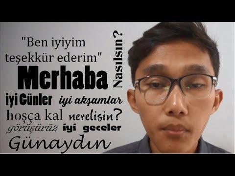 10 MENIT BELAJAR BAHASA TURKI EPS. 3 || PERCAKAPAN DASAR BAHASA TURKI #BELAJAR