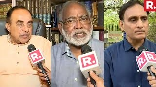 Dr. Subramanian Swamy, John Dayal And Rakesh Sinha React On #PranabAtRSS
