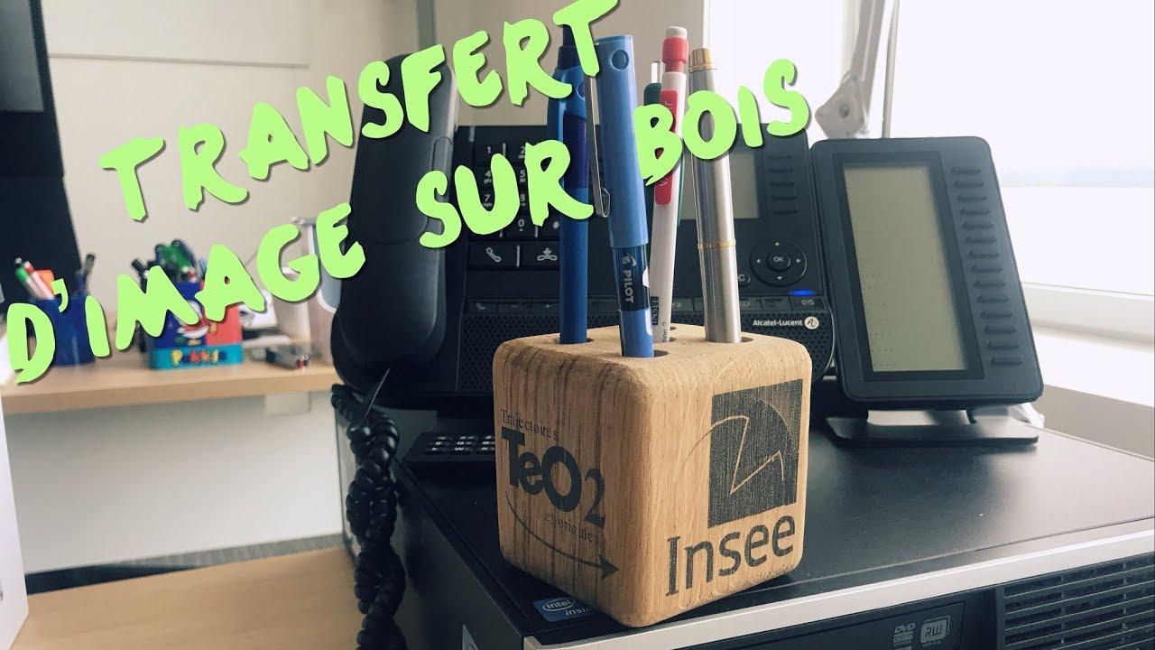 Transfert Photocopie Sur Bois transfert d'image sur bois avec du papier sulfurisé