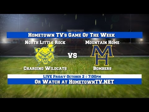 North Little Rock Charging Wildcats vs. Mountain Home Bombers - October 2, 2015