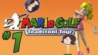 Mario Golf Toadstool Tour: Par Tee - PART 1 - Game Grumps VS