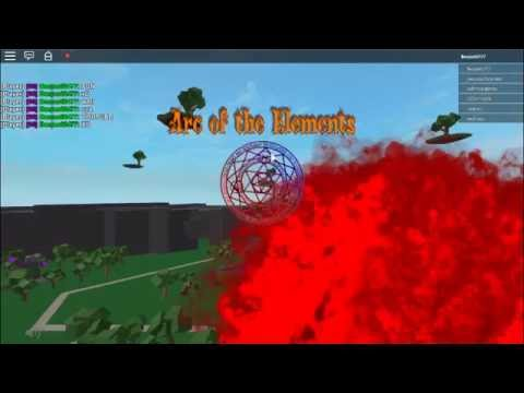 Roblox Arc Of Elements Combustion Is OP
