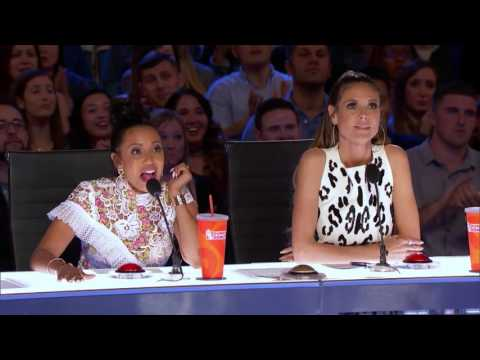 Week 4 America's Got Talent 2017   Just Jerk Dance Group Turns Out Seamless Performance