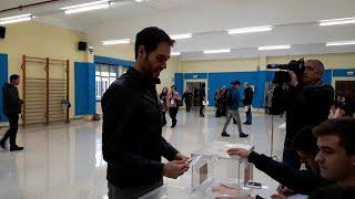 """Sergio Sayas (Na+) dice que la jornada de hoy es """"importante"""" y anima a votar"""
