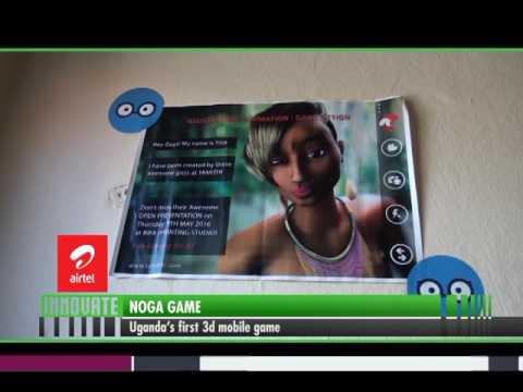 Innovate[1/2]: Noga Game, Uganda's 1st 3D Mobile game.