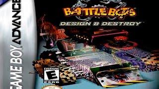 Battlebots: Design & Destroy - (GBA) (English)