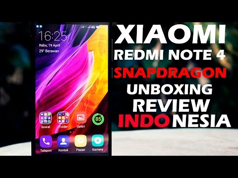 Xiaomi Redmi Note 4 4X / 4Snapdragon Review Indonesia