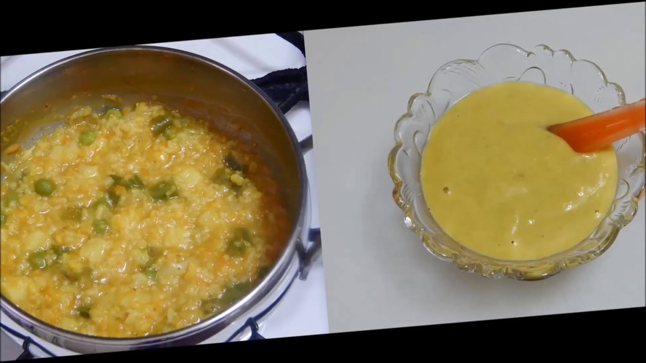 Healthy baby food recipe mix vegetable dal khichdi l stage 1 healthy baby food recipe mix vegetable dal khichdi l stage 1 homemade baby food l 8 months youtube forumfinder Gallery