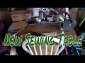 My New Sewing/Crafting Table
