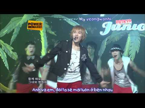 [Vietsub+Kara] 070708 Happiness - Super Junior