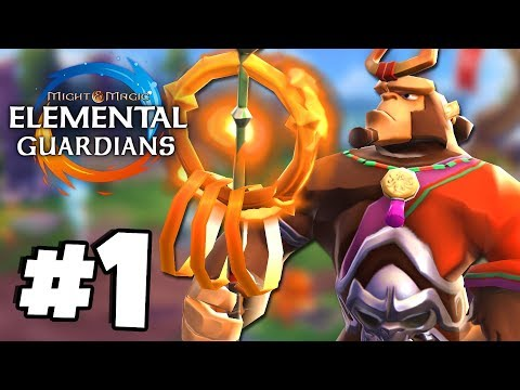 I'm Addicted To This 'NEXT GEN' RPG! - Might & Magic Elemental Guardians Part 1
