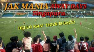 The jak Mania away Singapore . Home united Vs Persija Jakarta. 2019