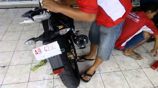 Cara memasang undertail Yamaha R15 (2)