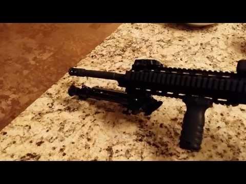 Mossberg AR 15 - Nc Star Bi Pod Unboxing