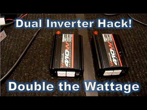 Parallel Inverters - Double the Power Hack!   Part2