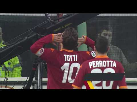 23 Francesco Totti goals from 23 different seasons