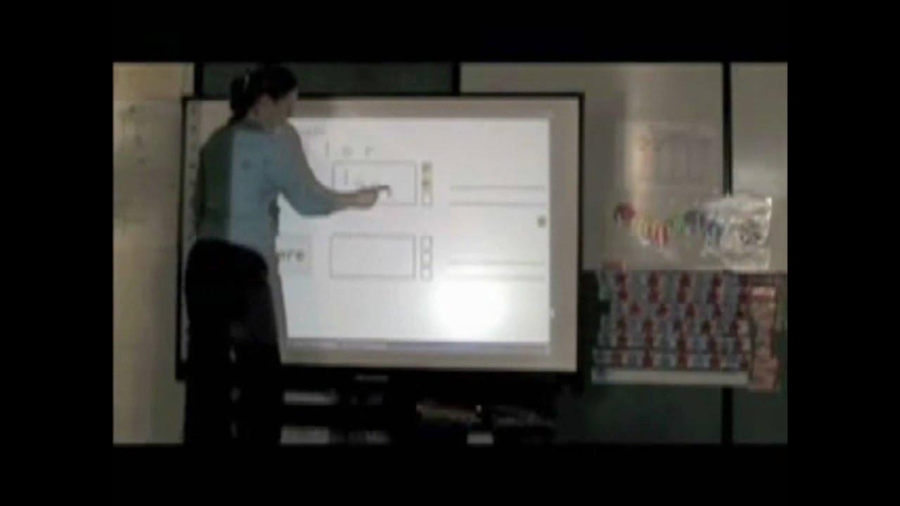 PolyVision TSL USB Touch Sensitive Lightning Interactive Whiteboard
