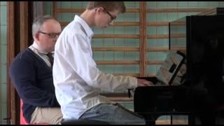 Examen de piano -  Loïc Van Beneden 29 mai 2013