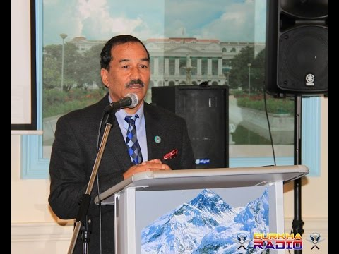 An interaction programme at Nepalese Embassy with DPM Kamal Thapa