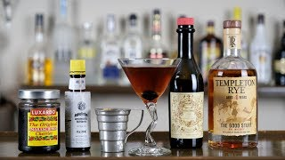 The Classic & Best Manhattan Cocktail Recipe!