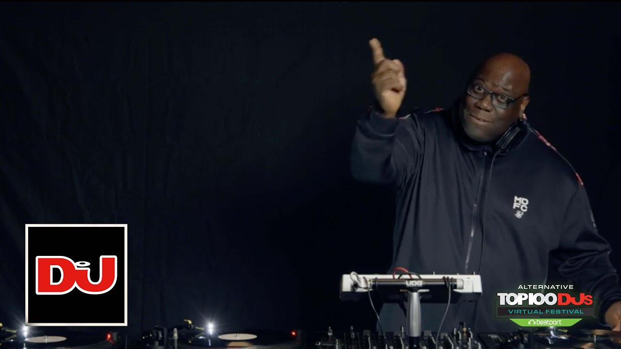 Carl Cox Vinyl Only DJ Set From The Alternative Top 100 DJs Virtual Festival 2020