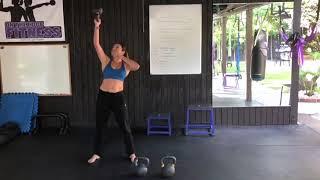 Kettlebell Workout 3 Minute Beatdown - Fat Loss and Strength