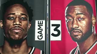 2018 NBA Playoffs Round1 Raptors vs Wizards Game 3 ESPN Intro