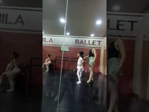 Ixia 1st class at Ballet Manila Philippines