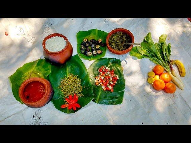 Cooking At An Organic Farm