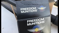 5.56x45mm, 55gr FMJ M193, Remanufactured, Freedom Munitions