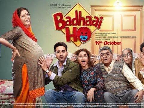 #badhai ho official trailer,Ayushmann Khurrana, Sanya Malhotra   Director Amit Sharma   19th Oct