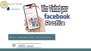 How to see who Visited  your Facebook Profile / How to see who Visited your Facebook Profile /2020 screenshot 1