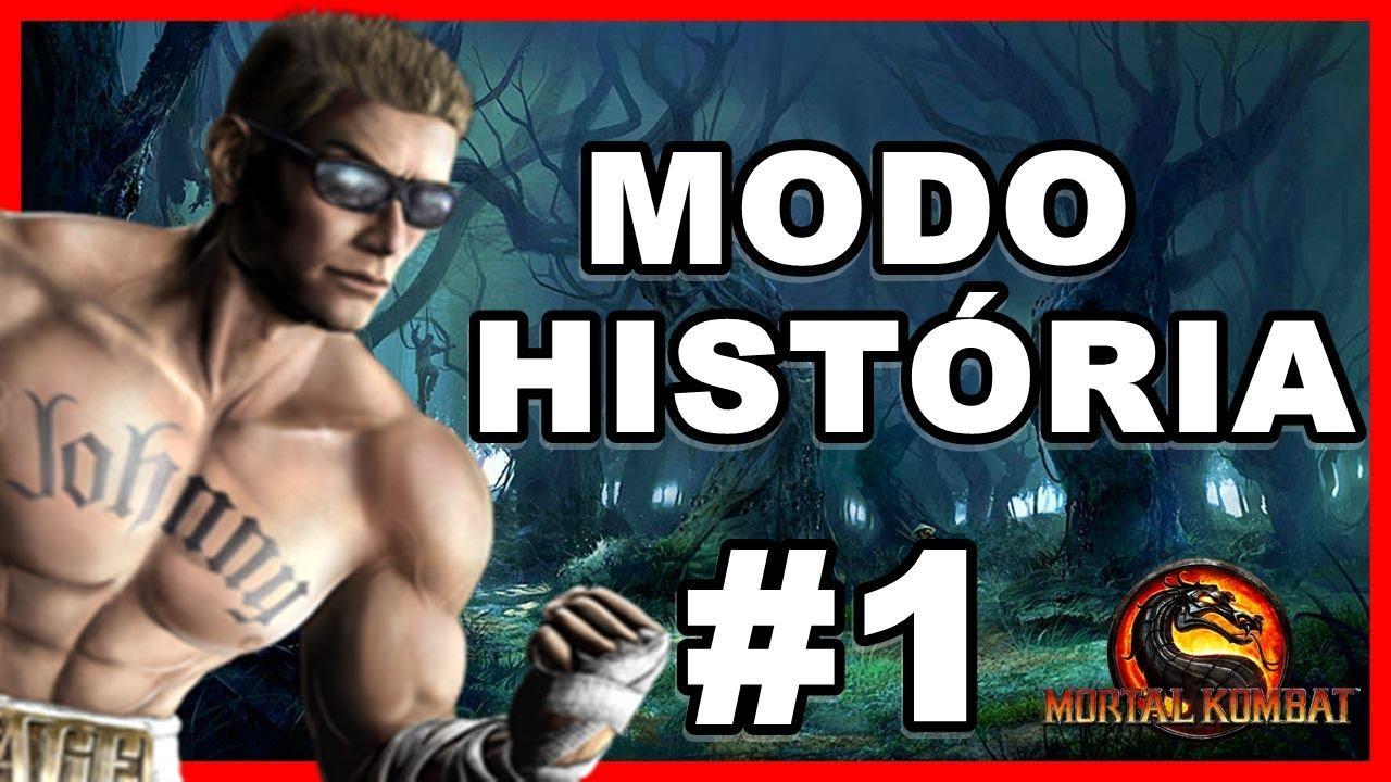 Mortal Kombat 9 - Modo História - PT BR - Capítulo 1 : JOHNNY CAGE
