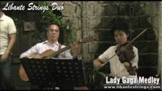 Lady Gaga Medley (Paparazzi, Bad Romance, Poker Face) cover by Libante Strings