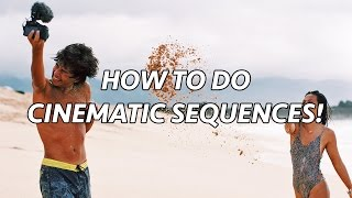 HOW TO DO CINEMATIC SEQUENCES!!