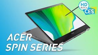 Acer Spin 3 e Spin 5, ora PIU' SOTTILI, LEGGERI e con pennino integrato nella scocca