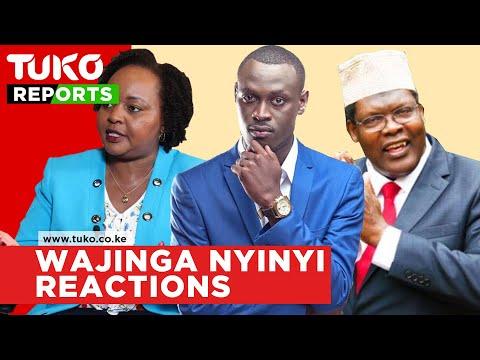 Kenyans React To Wajinga Nyinyi By King Kaka, Calls Out Bahati For Supporting Jubilee | Tuko TV