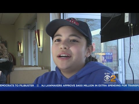 11-Year-Old Feeds Homeless On Long Island