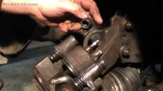 How To Fix, Service & Rebuild A Seized Brake Caliper - Ford Escort ZX2