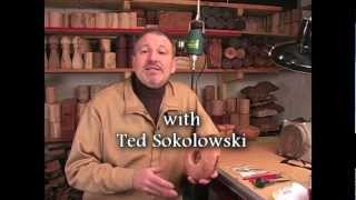 Metal Inlay Techniques For Woodturning And Woodworking By Ted Sokolowski (woodturning Dvd Preview)