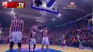 Crvena zvezda Telekom : Maccabi Electra 76:78 | Highlights [Euroleague 7.kolo | 28.11.2013]