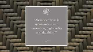 Alexander Rose Finest Garden Furniture