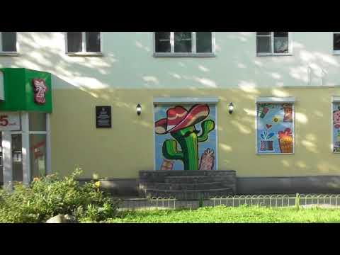 дизайн магазина в стиле граффити, магазин цветов Кактус в Великом Новгороде